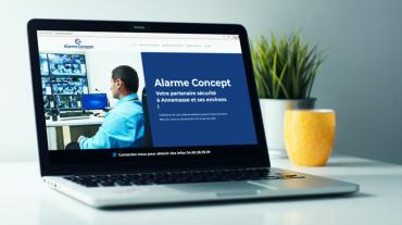 Site web - Alarme Concept