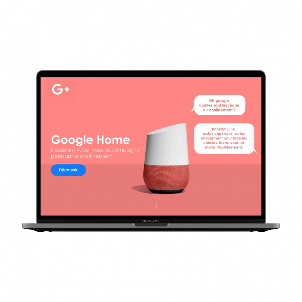landing page - Google Home