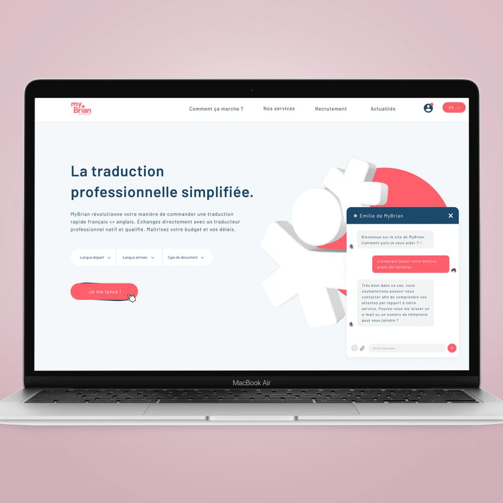 SIte web et application - MyBrian